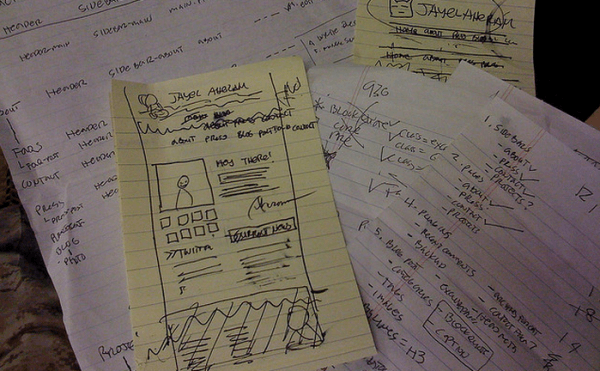 Website Drafts and Notes