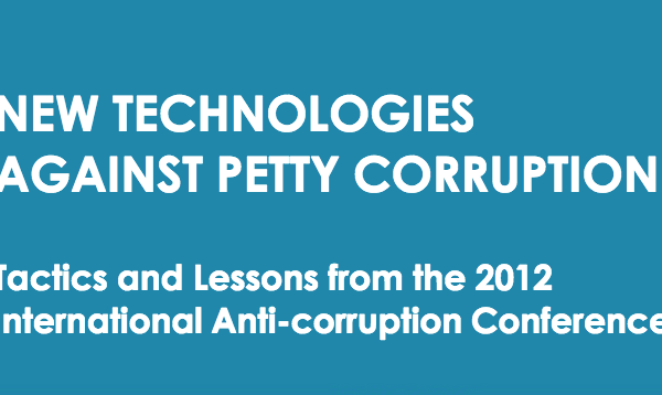New technologies against petty corruption