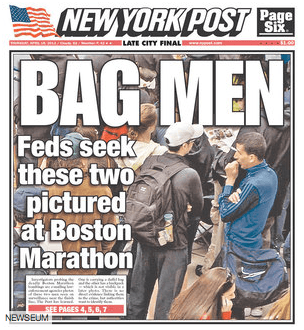 Обложка The New York Post