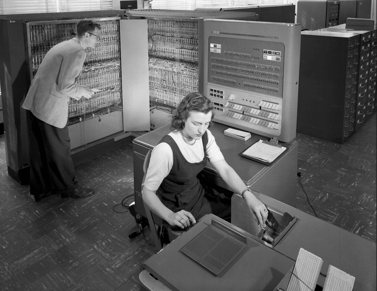 IBM Electronic Data Processing Machine
