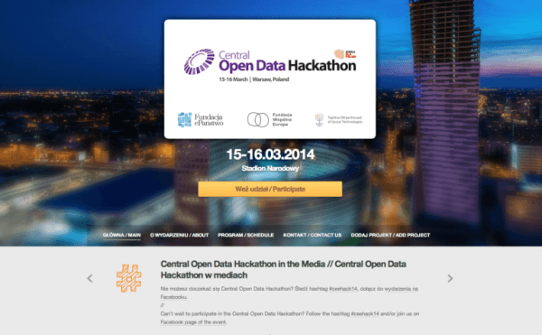 Central Open Data Hackathon