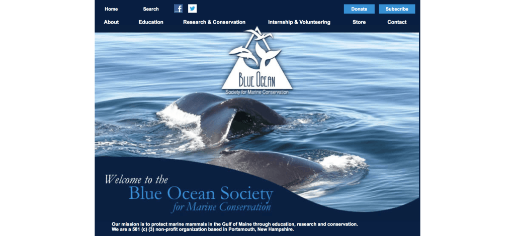 Blue Ocean Society for Marine Conservation