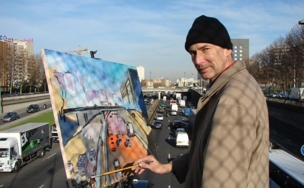 A_looping_painter_of_Paris