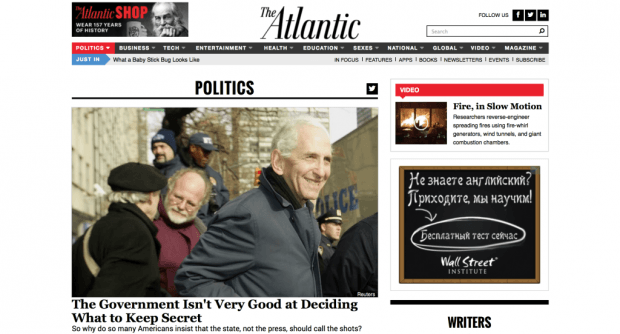 The Atlantic Politics