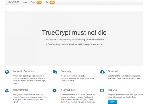 Truecrypt must not die