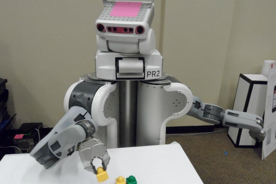 Crowdsourcing robots. Photo by Washington University