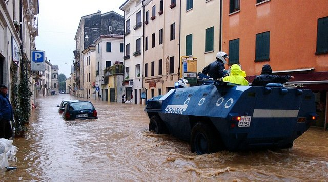 Vicenza flooding. Photo: Flickr by US Army Africa, CC BY 2.0