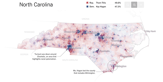 Изображение: nytimes.com/interactive/2014/11/04/upshot/senate-maps.html
