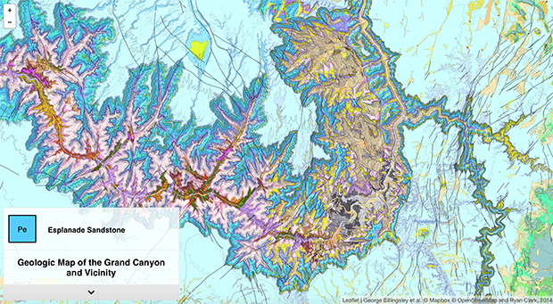 Изображение: Geologic Map: Grand Canyon