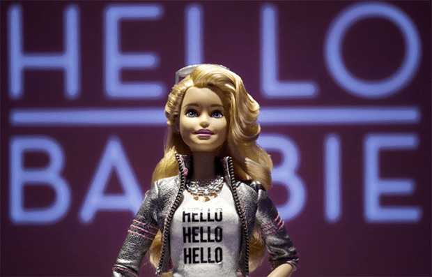 Hello Barbie. Изображение: AP Photo/Mark Lennihan