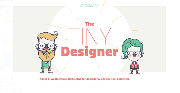 The Tiny Designer. Изображение: producthunt.com