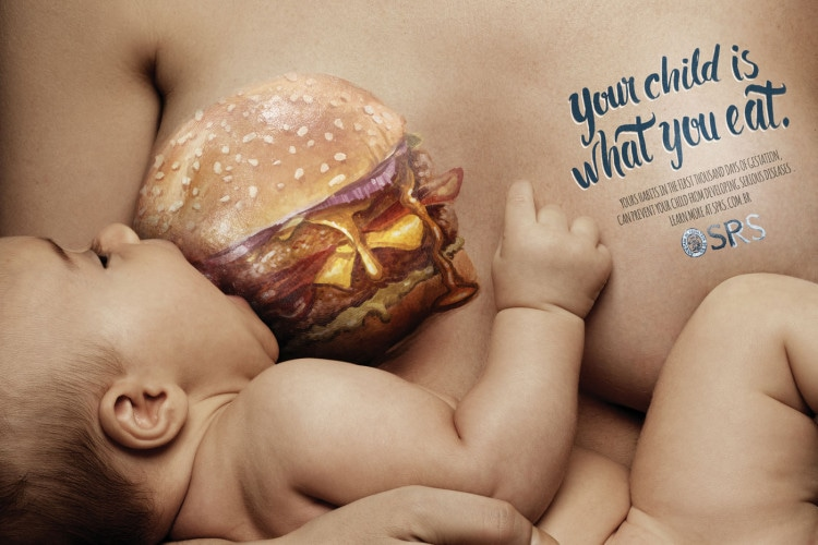 ads from the Brazilian paediatric society SPRS