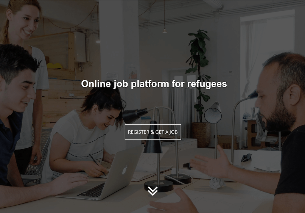 Фрагмент сайта refugeeswork.at