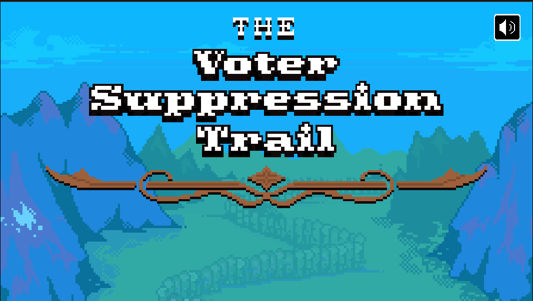 The Voter Suppression Trail.