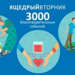 Движение уже получило распространение в более чем 100 странах мира. Фото: с сайта givingtuesday.ru