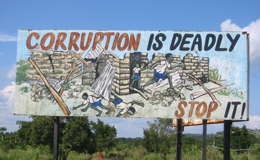 Corruption is deadly.