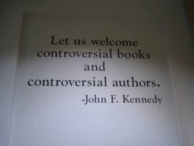 JFK quote in Chicago Public Library
