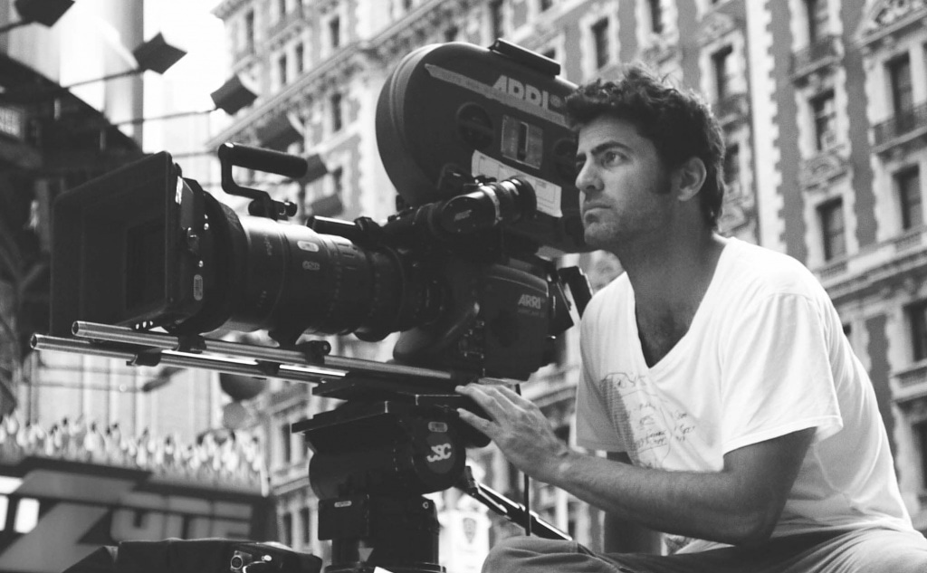 David_M_Rosenthal_on_location_in_New_York_City