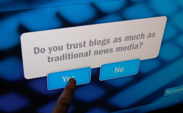 Newseum: Do You Trust Blogs?