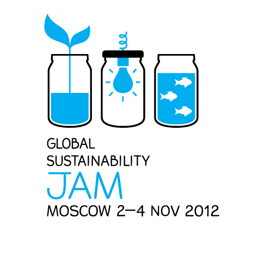 Логотип Global Sustainability Jam