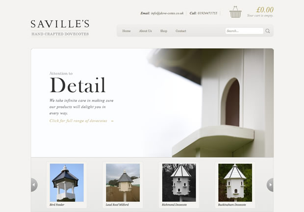 Savilles hand crafted dovecotes saville